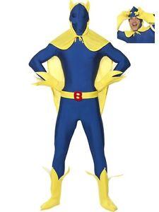 53290cc7489f Licenza Ufficiale Bananaman Costume Seconda pelle Body Nuovo da ...
