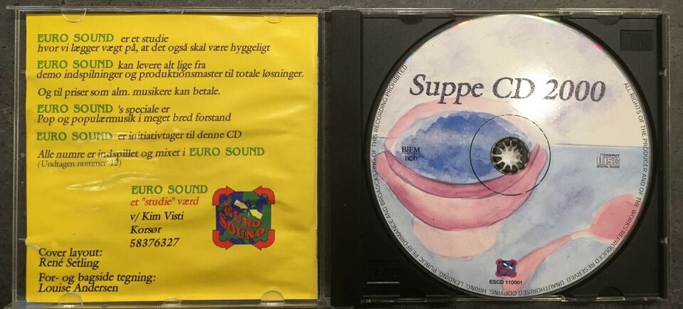 Kim Visti: Suppe CD 2000, andet