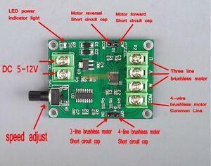 5v 12v dc brushless motor driver board controller for hard drive image is loading 5v 12v dc brushless motor driver board controller