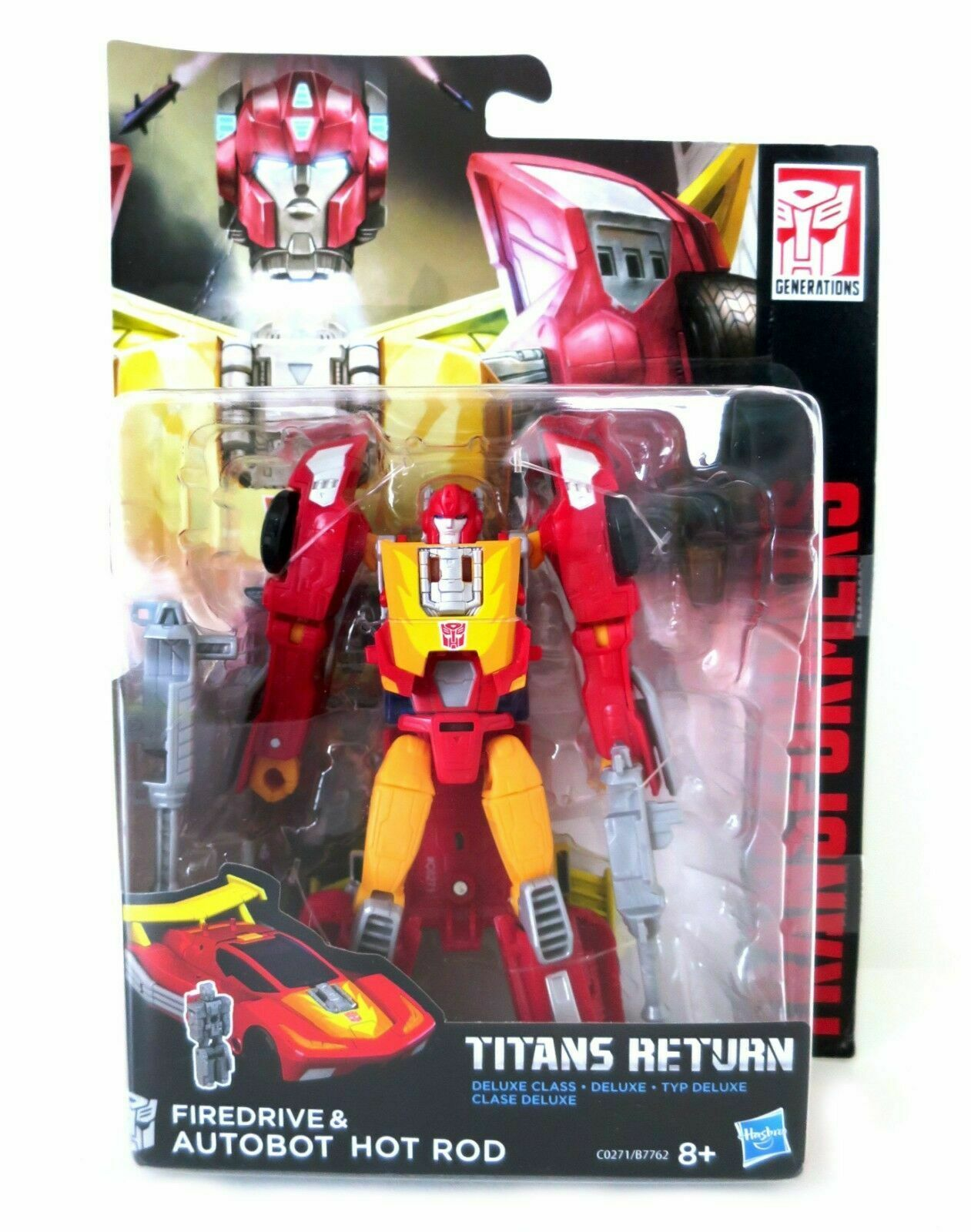Transformers Hasbro Titan Returns Deluxe Hotrod and Firedrive