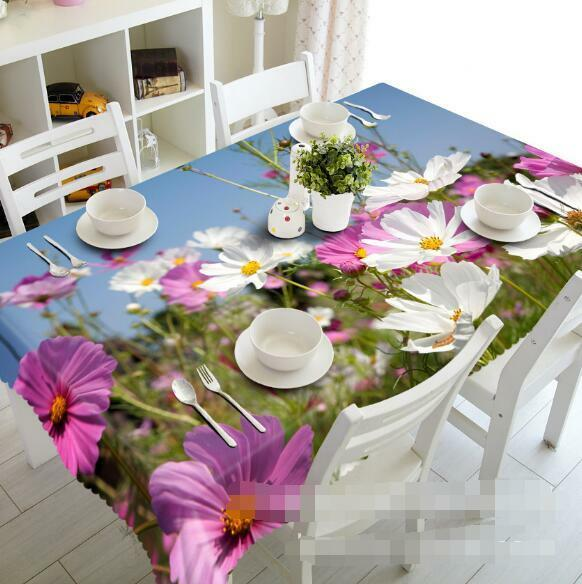 3D Field 784 Tablecloth Table Cover Cloth Birthday Party Event AJ WALLPAPER UK