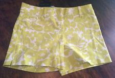 NWT Womens THE LIMITED Oversized Floral Tailored The Perfect Fit Shorts Size 6