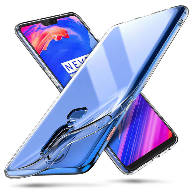 For Oneplus 6 Ultrathin Clear Silicone Shockproof Soft TPU Cover Case Skin New