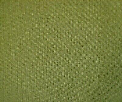Canvas Spot Fabric-Sage Green 150cm Wide Canvas craft fabr Canvas dress fabric