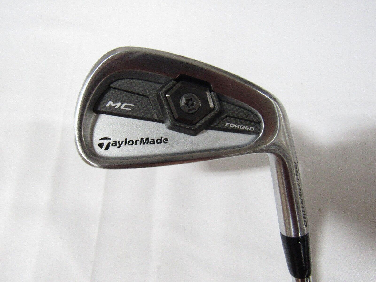 Used RH TaylorMade TP MC Forged Single 4 Iron Dynamic gold Steel Stiff S Flex