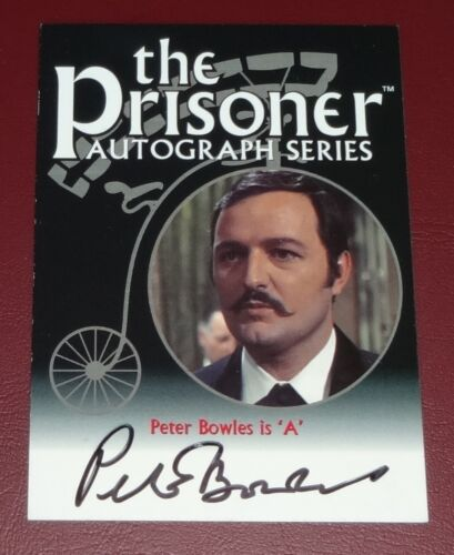The Prisoner Selection of Autographed Cards by Cards Inc Classic 1960/'s TV
