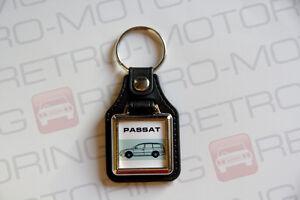 VW-Passat-B5-Estate-Keyring-Leatherette-Classic-Retro-Car-Wagon-Keytag