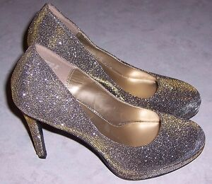 cf0b98dbe6d Details about FIONI NIGHT Gold Silver Sparkle 4.5
