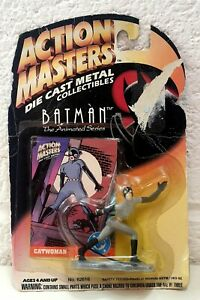 Azione-Masters-CAT-WOMAN-DIE-CAST-METAL-Collectibles-in-pacchetto-1994-vintage