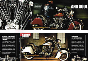 2002 INDIAN CHIEF Motorcycle Brochure, NEW!