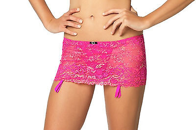 Women's Clothing 499986 Humorous Felina Women's La Dame Garter Skirt With Attached G-string