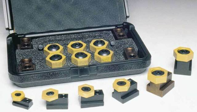 """Mitee-Bite 5/8"""" x 1/2""""-13 Workholding T-Slot Clamping Kit-Holding Force 3000Lbs"""