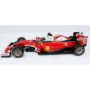 Ferrari SF16-H Formel 1 2016 #7 Kimi Räikkönen rot Burago Modellauto 1:18