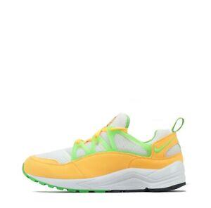 Nike-Air-Huarache-Leger-De-Sport-Hommes-Chaussures-Blanc-Atomic-Mango