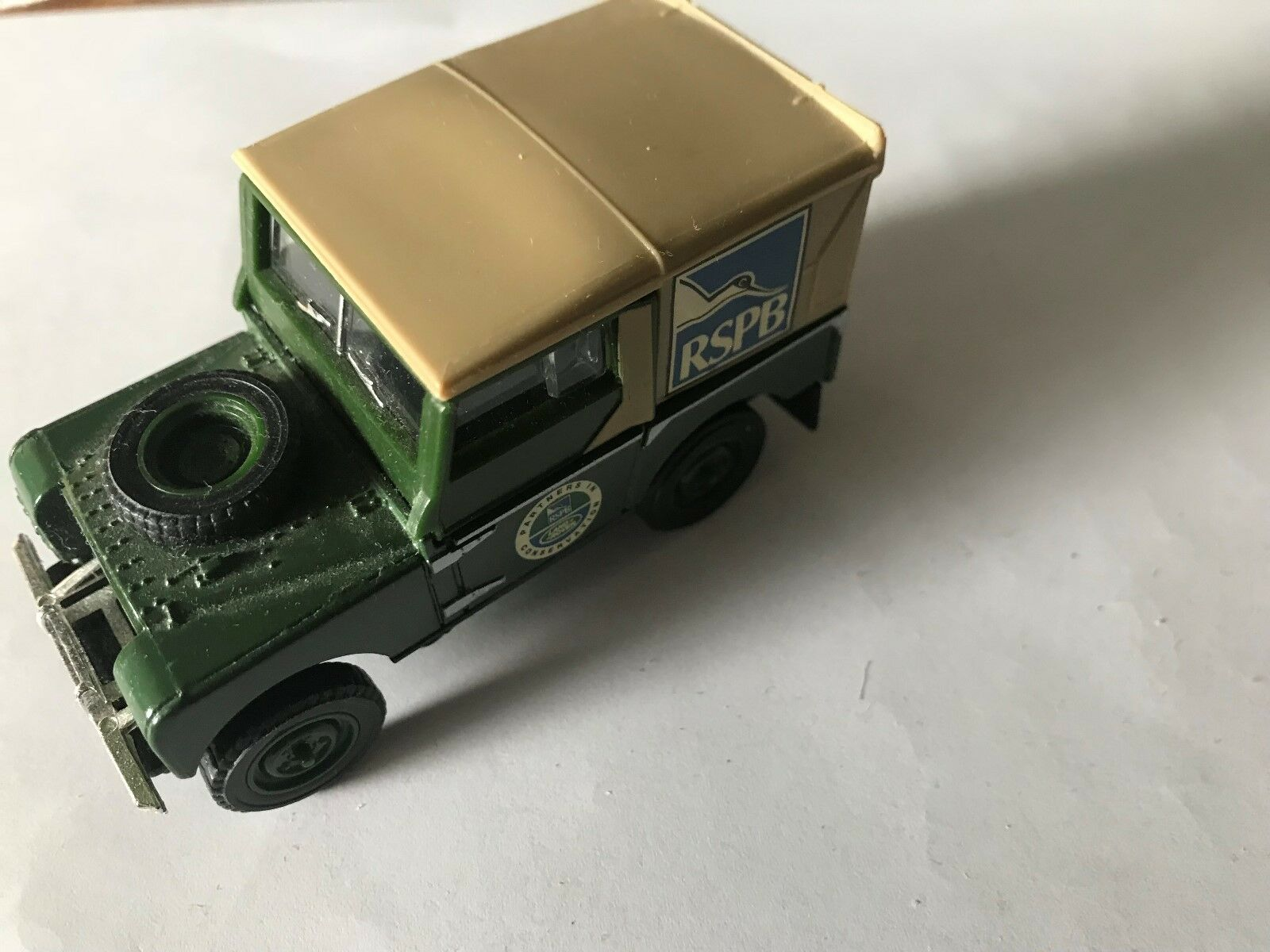RARE, dy-09 Land Rover, Olive/marrone  rspa , Dinky, pre-Pro, NO BOX