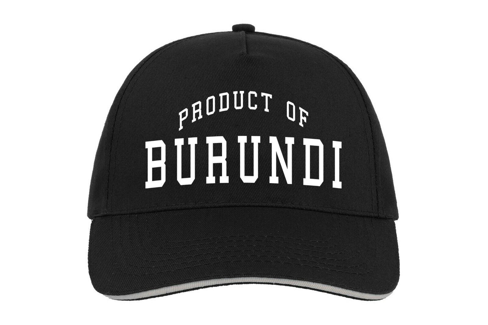 Burundi Produkt Von Baseballmütze Cap Geburtstagsgeschenk Maßgefertigt Country