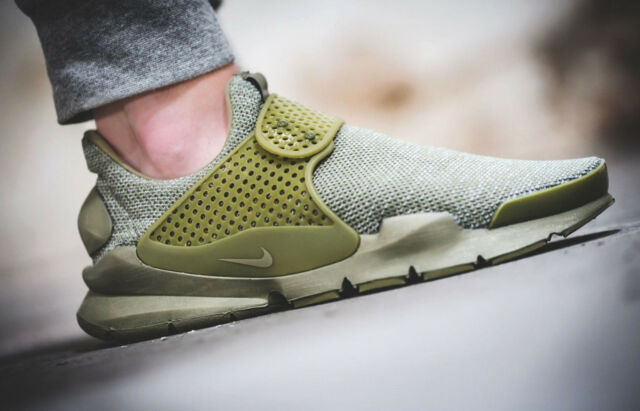 Cooperazione Walter Cunningham Paradiso  Nike Sock Dart BR Breath Trooper Olive Green Men Running Shoe Sneaker  909551-200 UK 12 for sale online | eBay