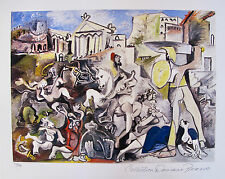 Pablo Picasso RAPE OF THE SABINE WOMEN Estate Signed & Numbered Small Giclee