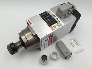 High Speed 1 5kw Spindle Motor Electric Air Cooled Er20