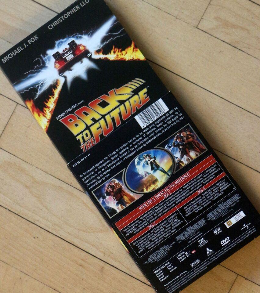 Tilbage til Fremtiden, instruktør Robert Zemeckis, DVD