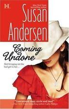 "Susan Anderson ""Coming Undone"" Romance 2007 Paperback Book"