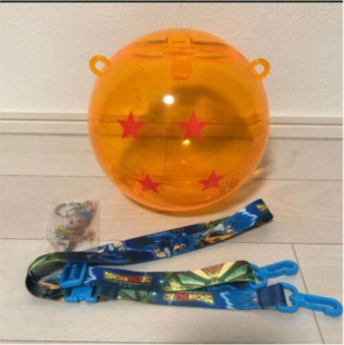 Dragon Ball Super Broly Movie cinema Popcorn Bucket with Goku KeyChain 2018