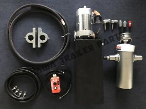 Hydraulic-Underbody-1030mm-stroke-6-stage-Tipping-Kit-Trailer-Parts