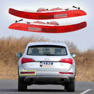 UK-1-Pair-Rear-Bumper-Stop-Brake-Reverse-Red-Lens-Tail-Light-For-Audi-Q5-09-16