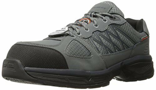Skechers Work Mens Conroe Searcy zapatos- Select SZ Color.