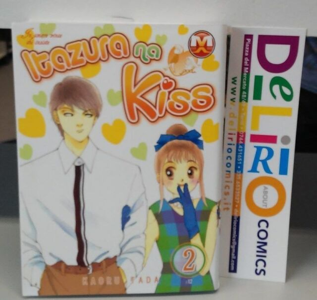 ITAZURA NA KISS IN AMORE VINCE CHI INSISTE N.2 Ed. MAGIC PRESS SCONTO 10%