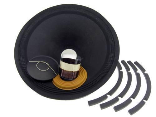Recone Set für Klipsch K 47 K 18   Treiber 8 Ohm Premium Ss Audio Reparatur