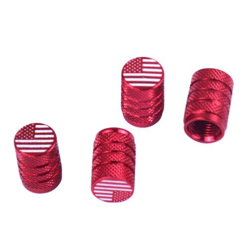 4 stilvolle Auto Schrader Ventilkappe Staubschutz Reifenreparatur Teile für