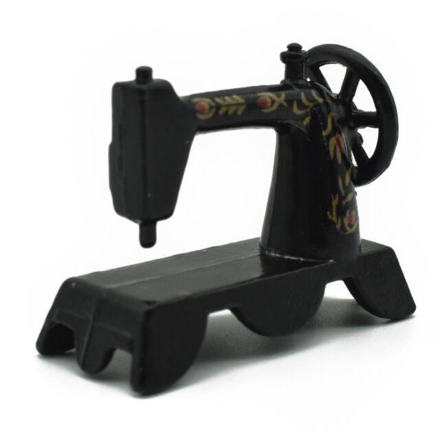 40 402 Scale Dollhouse Mini Sewing Machine Antique Retro Home Classy Decor Mini Sewing Machine