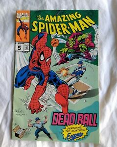 Amazing-Spider-Man-5-DEADBALL-1993-Promo-Comic-Ft-Montreal-Expos-Baseball-Team