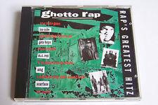 RAP´S GREATEST HITZ - GHETTO RAP US-CD 1992 (Ice Cube Geto Boys 2Pac Scarface)