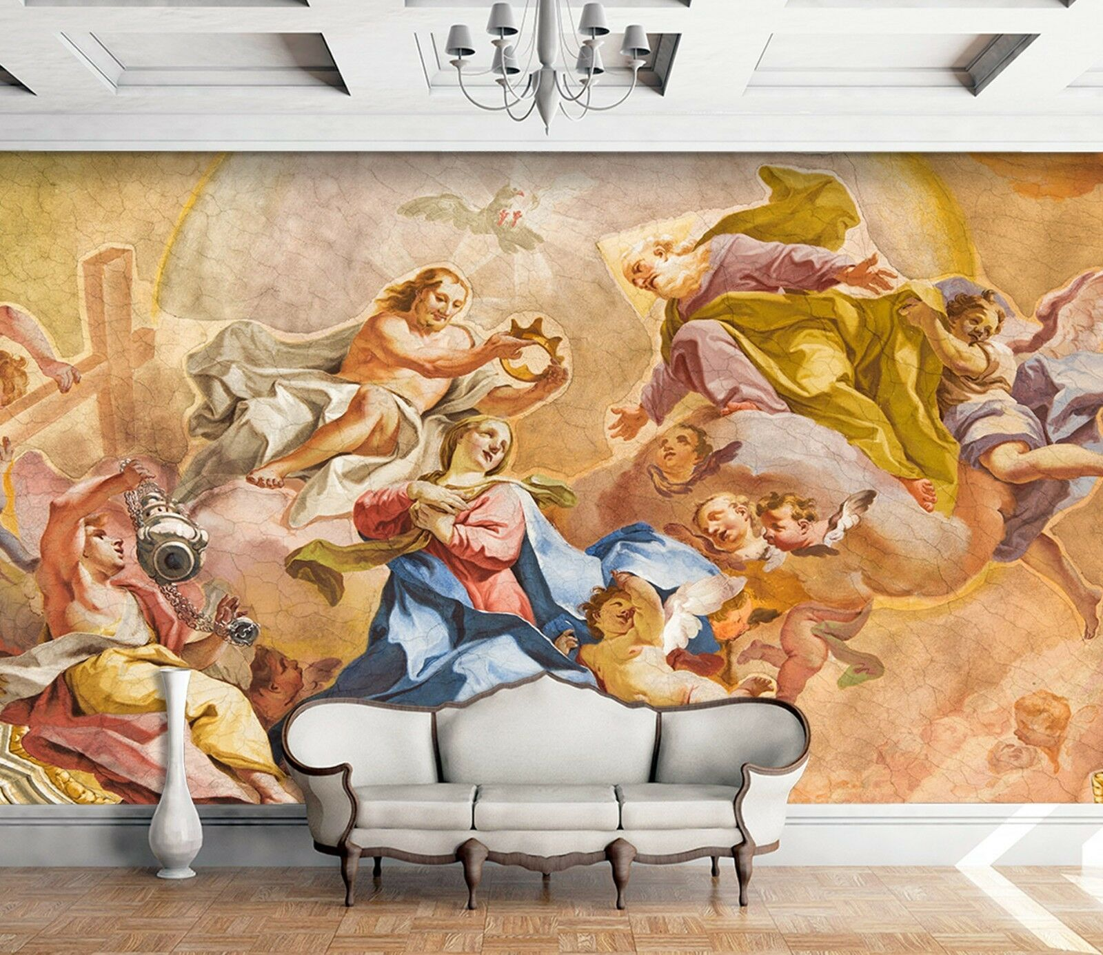 3D Classic Angels Painting 5 Wall Paper wall Print Decal Wall Deco Indoor Mural