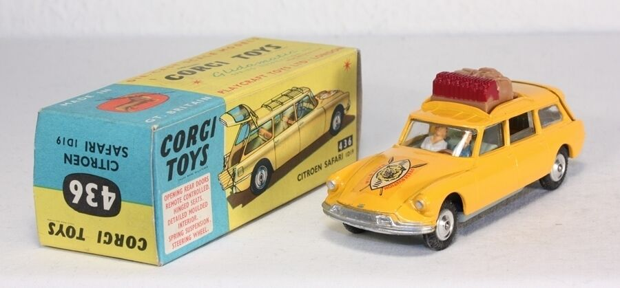 CORGI TOYS 436, Citroën safari ID 19, Comme neuf in box  ab1641
