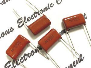 SEORYONG MP 0.1uF 250V 5/% Radial Film Capacitor 10pcs