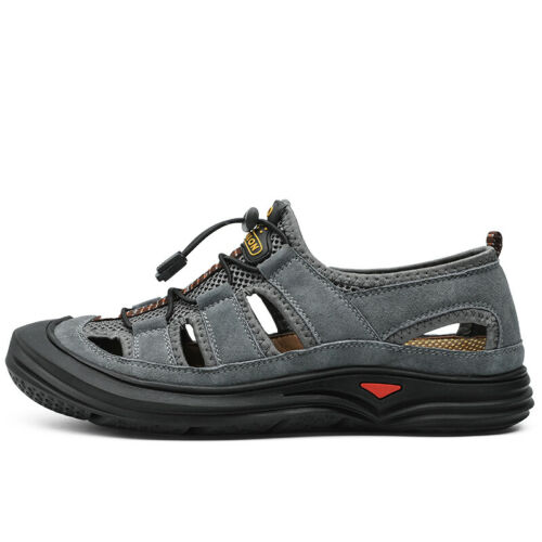 Man summer sandals Lightweight Comfortable Non-slip outdoor Beach shoes Big size