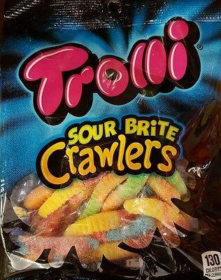 Trolli Sour Brite Crawlers Gunmy Candy 4 oz Bag