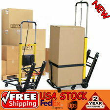 Stair Climbing Hand Truck Electric Power 6 Wheels Folding Cart Dolly 180kg Load