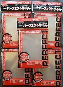 5x Perfect Fit Size Sleeves KMC Card-Barrier 100