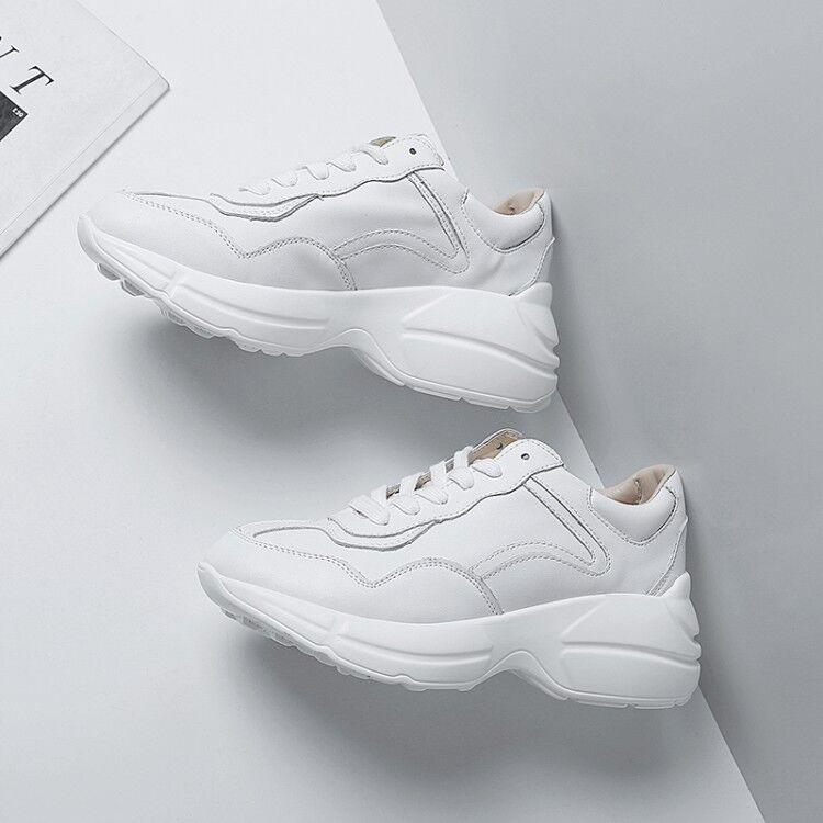 Para mujeres con Cordones Tenis Deportivas Deportivas Deportivas Plataforma Zapatos Para Caminar Correr Deportes al Aire Libre  precios ultra bajos