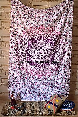 Indian Hippie Mandala Tapestry Bohemian Wall Hanging Twin Bedspread Throw Decor