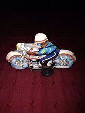 Jouet Moto Tôle Vintage