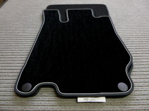 Rand Nubuk silber NEU Lengenfelder Fußmatten passend für Opel Crossland X