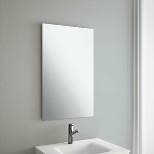 Image Is Loading 50 X 70cm Frameless Rectangle Bathroom Mirror With