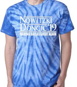 e6e0ce1c762 Image is loading Tie-Dye-Dirk-Nowitzki-Luka-Doncic-Dallas-Mavericks-