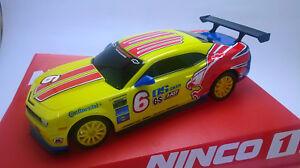 Slot-Car-Ninco-55088-Chevrolet-Camaro-Eagle-Compatible-1-32-Scalextric