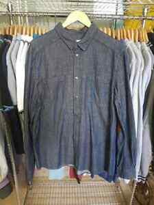 1 chemise manches longues homme ELEVEN PARIS VICK MEN taille XL NEUF
